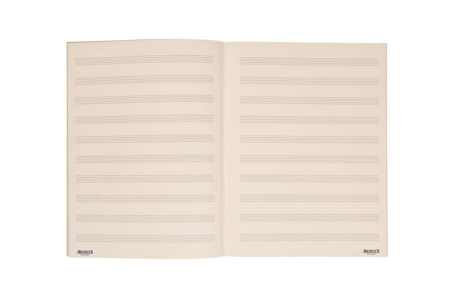 View larger image of D'Addario Archives Stitch Bound Manuscript Book - 10 Stave, 48 Page
