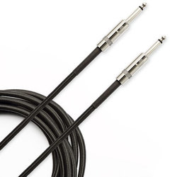 D'Addario Braided Instrument Cable - 10', Black