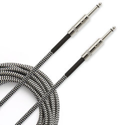D'Addario Braided Instrument Cable - 20', Grey
