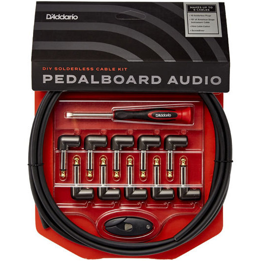 View larger image of D'Addario DIY Solderless Pedalboard Cable Kit
