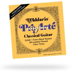 D'Addario EJ44C Pro-Arte Classical Guitar Strings - Extra Hard Tension