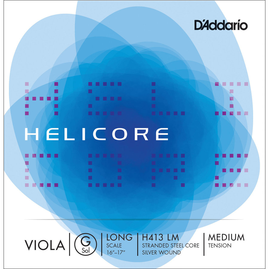 View larger image of D'Addario Helicore Single G Viola String - Long, Medium