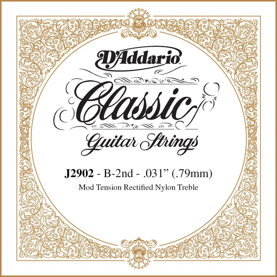 View larger image of D'Addario J2902 Pro-Arte Rectified Single Classical Guitar String - B