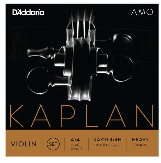 View larger image of D'Addario Kaplan Amo Violin D String - 4/4 Scale, Heavy Tension