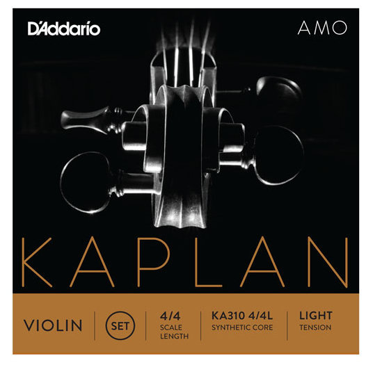 View larger image of D'Addario Kaplan Amo Violin D String - 4/4 Scale, Light Tension