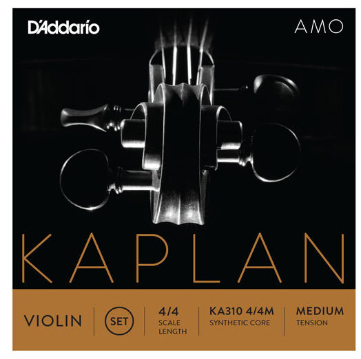 View larger image of D'Addario Kaplan Amo Violin G String - 4/4 Scale, Medium Tension