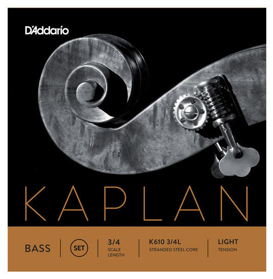 View larger image of D'Addario Kaplan Bass Single A String - 3/4 Scale, Light Tension