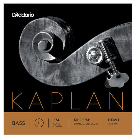 View larger image of D'Addario Kaplan Bass Single E String - 3/4 Scale, Heavy Tension