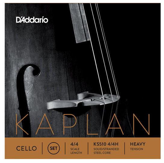 View larger image of D'Addario Kaplan Cello C String - 4/4 Scale, Heavy Tension