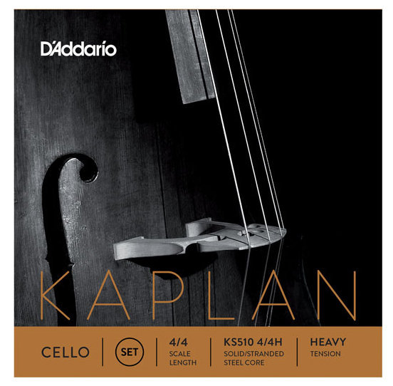 View larger image of D'Addario Kaplan Cello String Set - 4/4 Scale, Heavy Tension