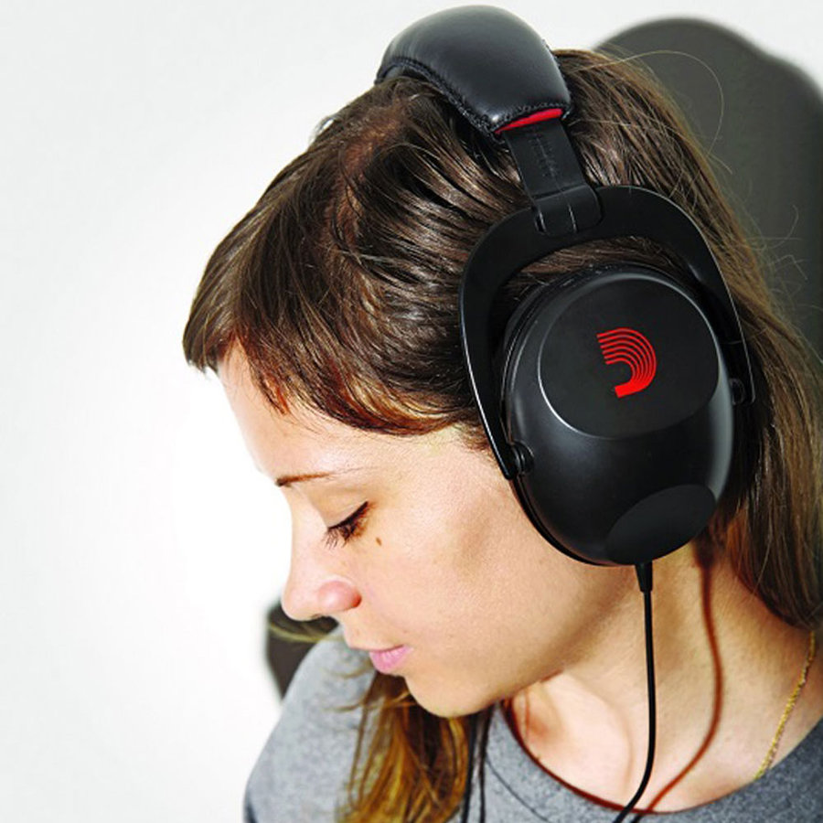 View larger image of D'Addario Logo Headphones