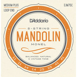 D'Addario Monel Mandolin Strings - Medium Plus