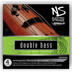 D'Addario NS Electric Contemporary Bass Single Low B String - 3/4 Scale, Medium Tension