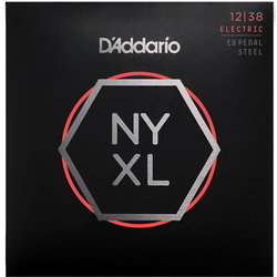 D'Addario NYXL E9 Pedal Steel Strings - Custom Light, 12-38