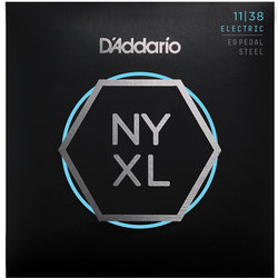 D'Addario NYXL E9 Pedal Steel Strings - Regular, Light, 11-38