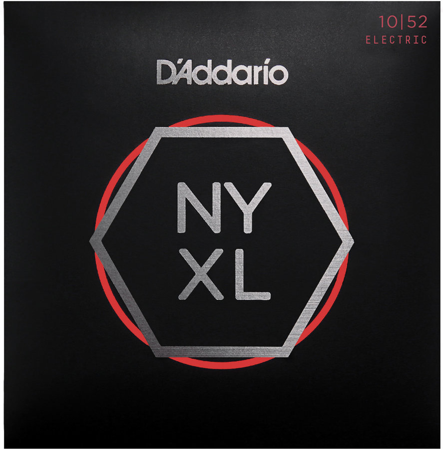 View larger image of D'Addario NYXL Nickel Wound Electric Guitar Strings - 10-52 Light Top/Heavy Bottom