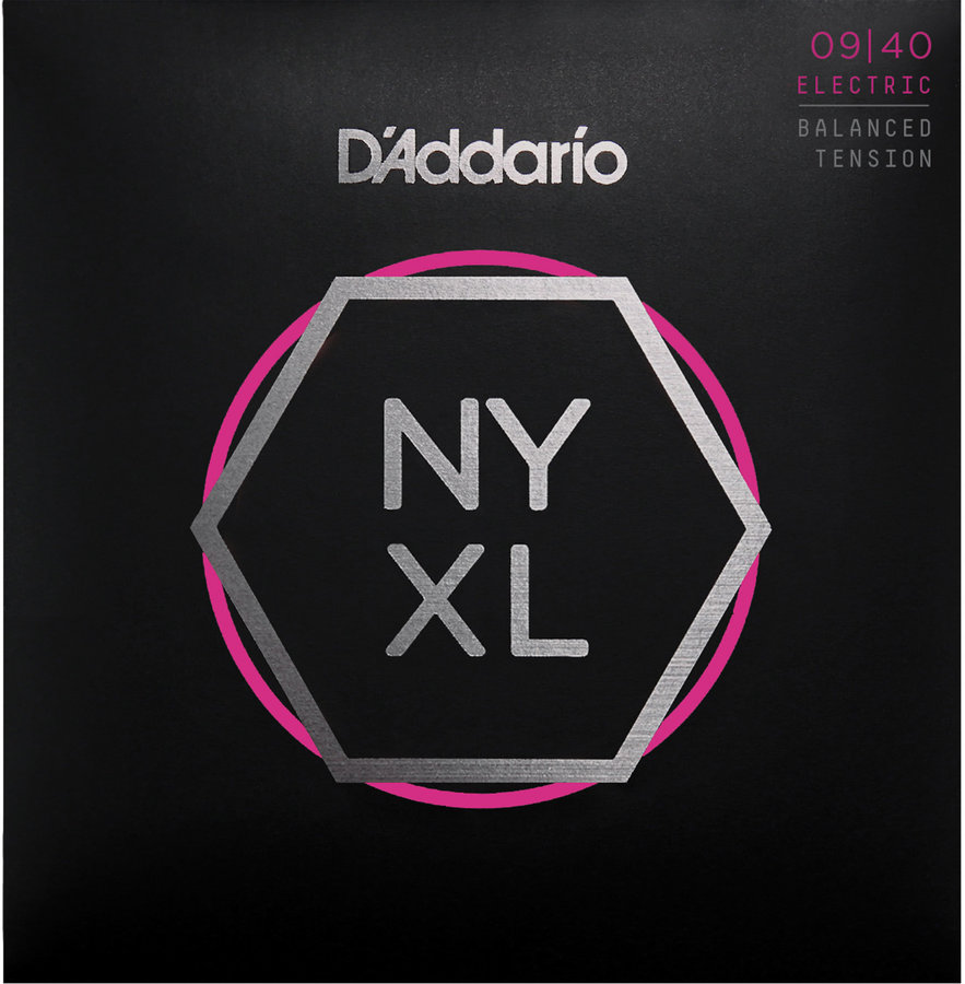 View larger image of D'Addario NYXL0940BT Nickel Wound Electric Strings - Super Light - 09-40