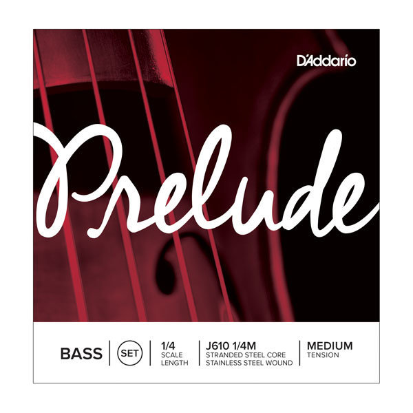 View larger image of D'Addario Prelude Bass Single D String - 1/4 Scale, Medium Tension