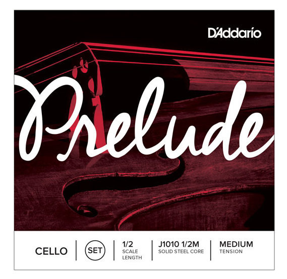 View larger image of D'Addario Prelude Cello String Set - 1/2 Scale, Medium Tension