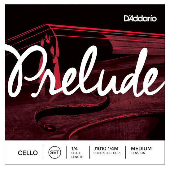 View larger image of D'Addario Prelude Cello String Set - 1/4 Scale, Medium Tension