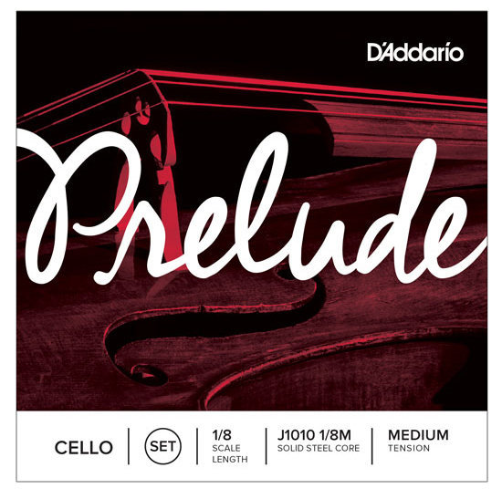 View larger image of D'Addario Prelude Cello String Set - 1/8 Scale, Medium Tension