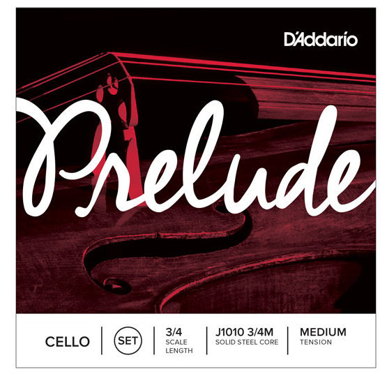 View larger image of D'Addario Prelude Cello String Set - 3/4 Scale, Medium Tension