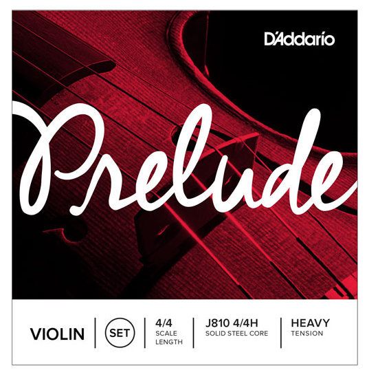 View larger image of D'Addario Prelude Violin String Set - 4/4 Scale, Heavy Tension