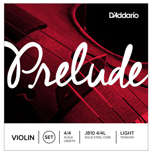 View larger image of D'Addario Prelude Violin String Set - 4/4 Scale, Light Tension