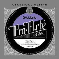 D'Addario Pro-Arte Classical Guitar Strings - Extra Hard, Composite G, 1/2 Set