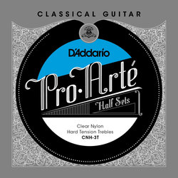 D'Addario Pro-Arte Classical Guitar Strings - Hard, 1/2 Set