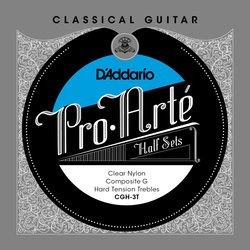 D'Addario Pro-Arte Classical Guitar Strings - Hard, Composite G, 1/2 Set