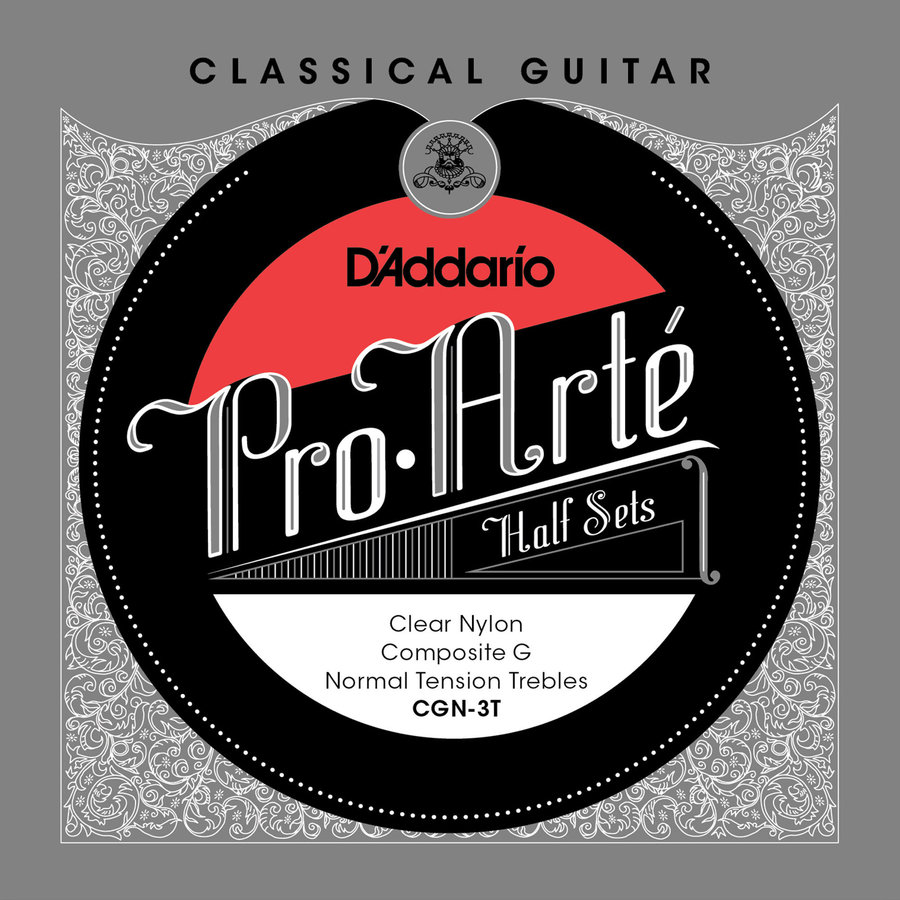 View larger image of D'Addario Pro-Arte Classical Guitar Strings - Normal, Composite G, 1/2 Set