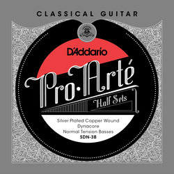 D'Addario Pro-Arte Dyna Core Half String Set - Normal