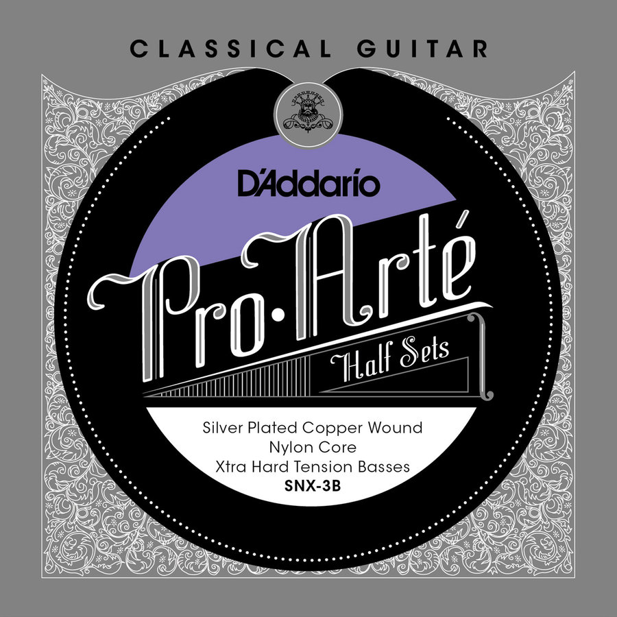 View larger image of D'Addario Pro-Arte Nylon Core Half String Set - Extra Hard