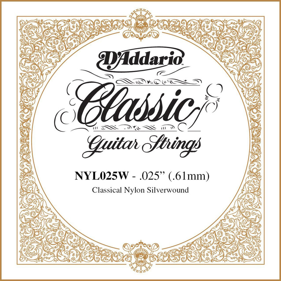 View larger image of D'Addario Pro-Arte Single Classical Guitar String - Silver Wound, 25