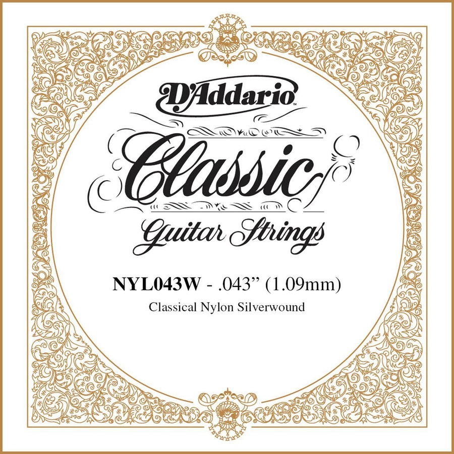 View larger image of D'Addario Pro-Arte Single Classical Guitar String - Silver Wound, 43
