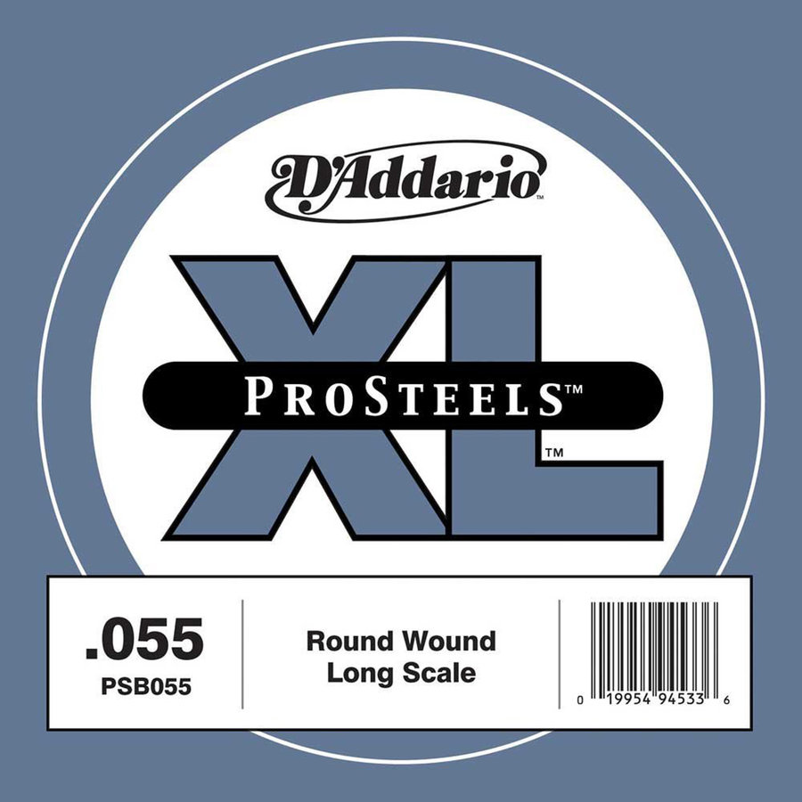 View larger image of D'Addario PSB055 XL ProSteels Single Bass Guitar String - Long, 55