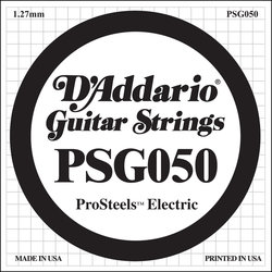 D'Addario PSG042 XL ProSteel Single Electric Guitar Strings - 42