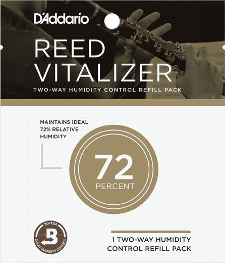 View larger image of D'Addario Reed Vitalizer Single Refill Pack - 72% Humidity