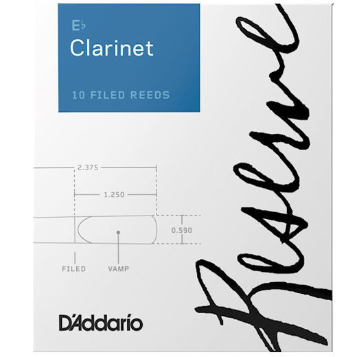 View larger image of D'Addario Reserve Eb Clarinet Reeds - #2-1/2, 10 Box