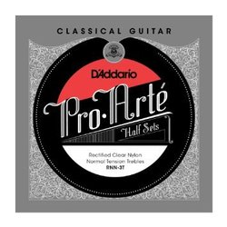 D'Addario RNN-3T Pro-Arté Rectified Clear Nylon Treble Classical Strings - Normal