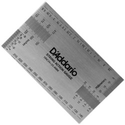 D'Addario String Height Gauge Measuring Tool