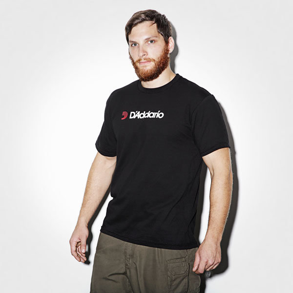 View larger image of D'Addario T-Shirt - Black, Extra Small