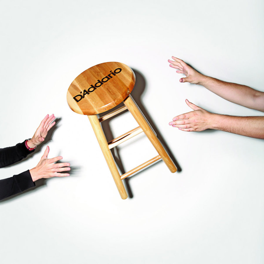 View larger image of D'Addario Wooden Stool