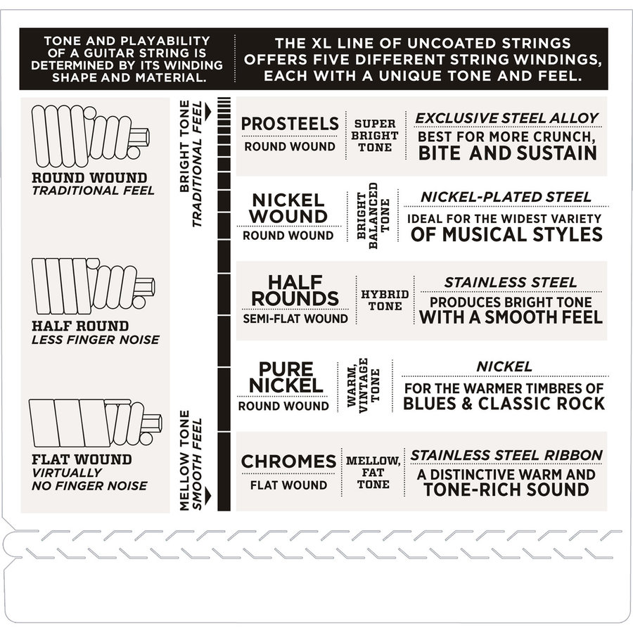 View larger image of D'Addario XL Nickel Wound Bass Guitar Strings - 45-105