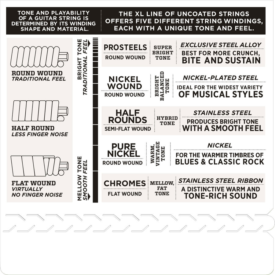 View larger image of D'Addario XL Nickel Wound Electric Guitar Strings - Round Wound, 10-26
