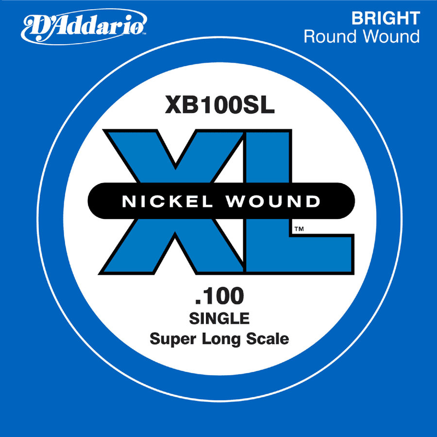 View larger image of D'Addario XL Nickel Wound Single Bass String - Super Long, 100
