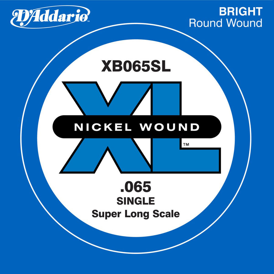 View larger image of D'Addario XL Nickel Wound Single Bass String - Super Long, 65