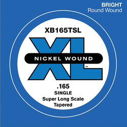 D'Addario XL Nickel Wound Single Bass String - Super Long, Tapered, 165