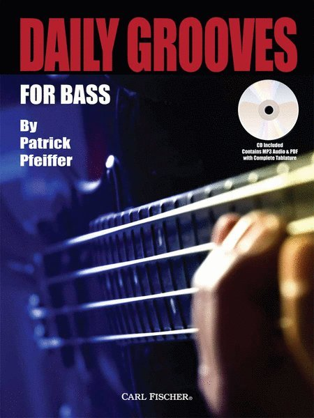 View larger image of Daily Grooves for Bass w/CD